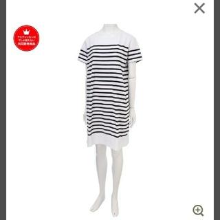 アカチャンホンポ - 《マタニティ服》《授乳服》パネルボーダーワンピース ブラック