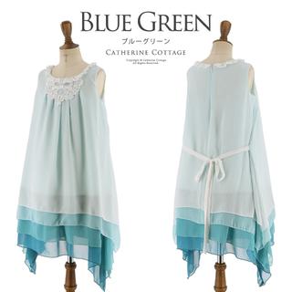 キャサリンコテージ(Catherine Cottage)のシフォンワンピースドレスとレースボレロのセット♪(ドレス/フォーマル)