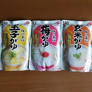 アジノモト(味の素)の味の素国産コシヒカリ100%おかゆセット(米/穀物)