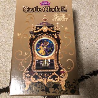 ディズニー(Disney)のディズニー 美女と野獣 時計(置時計)