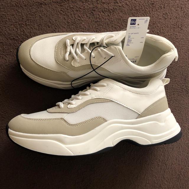 GU(ジーユー)のguダッドスニーカー、XL レディースの靴/シューズ(スニーカー)の商品写真