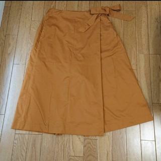 ジーユー(GU)のラップスカート風ワイドパンツ(カジュアルパンツ)