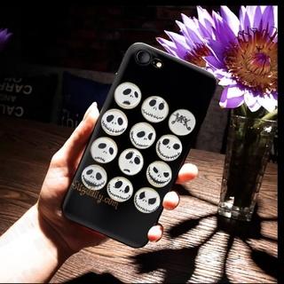 ディズニー(Disney)の【ナイトメアビフォアクリスマス】ジャック スマホケース iPhone8(iPhoneケース)