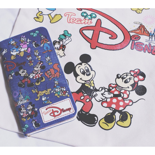 ディズニー(Disney)のディズニーランド スマホケース(iPhoneケース)