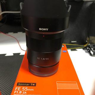 ソニー(SONY)のSONY Sonnar T*FE 55mm F1.8 ZA(レンズ(単焦点))