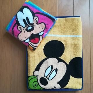 ディズニー(Disney)のバスタオル & ハンドタオル(タオル/バス用品)