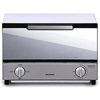アイリスオーヤマ オーブントースター トースト2枚 ミラー調 横型 MOT-01(その他 )