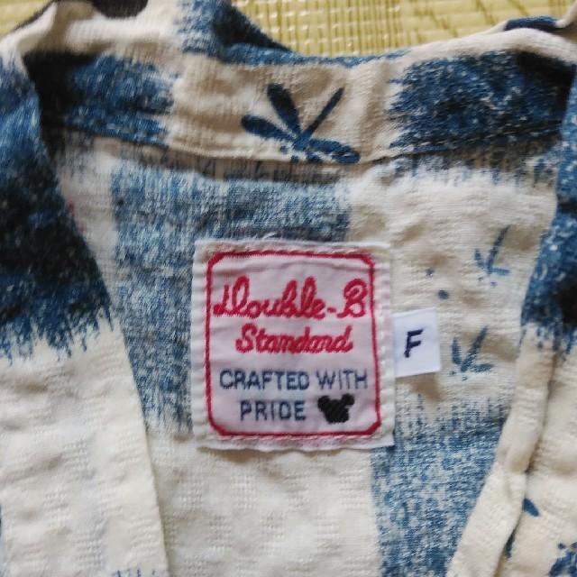 DOUBLE.B(ダブルビー)のミキハウス ダブルB 甚平 サイズ60-70 キッズ/ベビー/マタニティのベビー服(~85cm)(甚平/浴衣)の商品写真