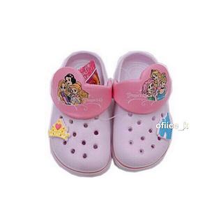 クロックス(crocs)のディズニー プリンセス サンダル クロックス ビーチサンダル バッジ  16cm(サンダル)