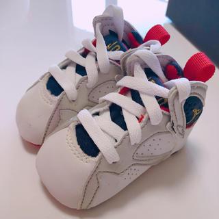 ナイキ(NIKE)のベビー Nike First Jordan7 Retro(スニーカー)