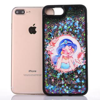 ディズニー(Disney)のiPhoneXR グリッターケース ジャスミン ディズニー スマホカバー (iPhoneケース)