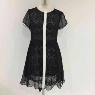 アウラアイラ(AULA AILA)のアウラアイラ ワンピース ドレス 定価2万円(ひざ丈ワンピース)