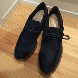 クラークス(Clarks)のクラークス レースアップシューズ24.0センチ(ローファー/革靴)