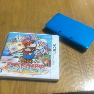 ニンテンドウ(任天堂)の3DS ペーパーマリオ(携帯用ゲームソフト)