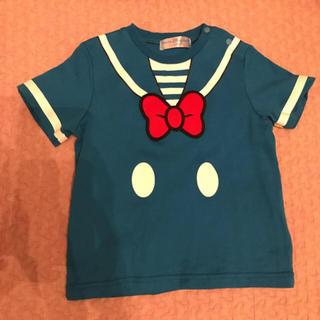 ディズニー(Disney)のディズニーリゾート限定 ドナルド なりきり Tシャツ(Tシャツ/カットソー)