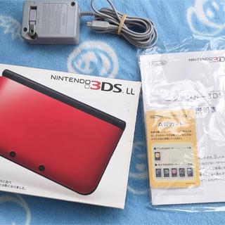 ニンテンドー3DS(ニンテンドー3DS)のニンテンドー3DS  LL 赤 ⭐️24日24時まで6500円⭐️(携帯用ゲーム本体)