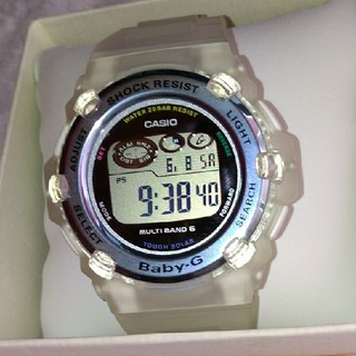 ベビージー(Baby-G)のイルカ・クジラ2018年モデル BGR-3008K-7JR(腕時計)
