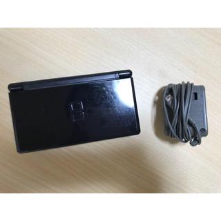 ニンテンドーDS(ニンテンドーDS)のDS Lite ブラック  充電器付き(携帯用ゲーム本体)