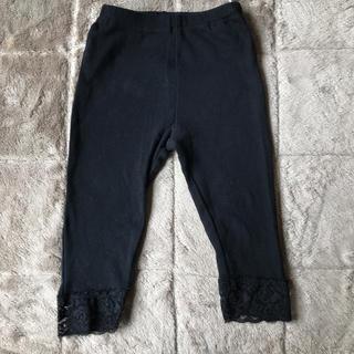 ニシマツヤ(西松屋)の黒レギンス スパッツ 95cm(パンツ/スパッツ)