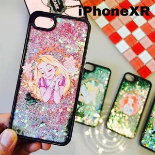 ディズニー(Disney)のiPhoneXR ラプンツェル グリッターケース  ディズニー スマホカバー(iPhoneケース)