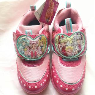 ディズニー(Disney)のHUGっとプリキュア スニーカー 新品 未使用 靴 上履き(スニーカー)