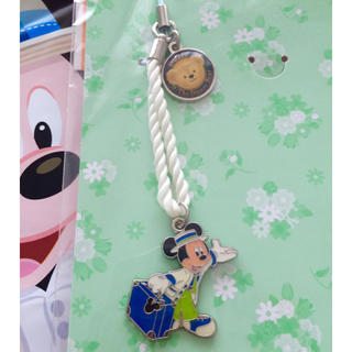 ディズニー(Disney)のスプリングヴォヤッジ♡ストラップ ミッキー(ストラップ/イヤホンジャック)