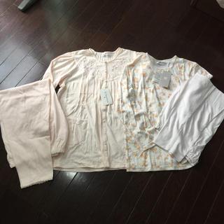 ワコール(Wacoal)のアコ様専用   パジャマ上下長袖2セット 新品未使用(パジャマ)