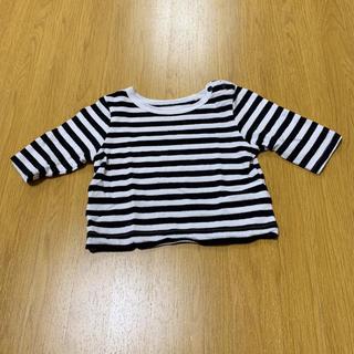 マーキーズ(MARKEY'S)のマーキーズ MARKEY'S ボーダートップス 70cm(Tシャツ)