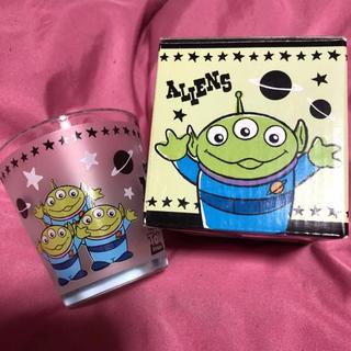ディズニー(Disney)のグラス コップ リトルグリーンメン(グラス/カップ)