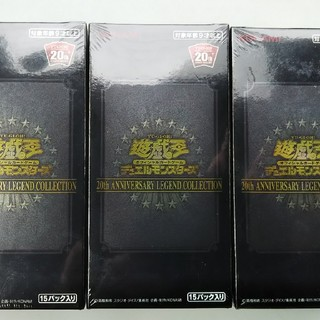 ユウギオウ(遊戯王)の遊戯王 レジェンドコレクション 未開封box 26box(Box/デッキ/パック)