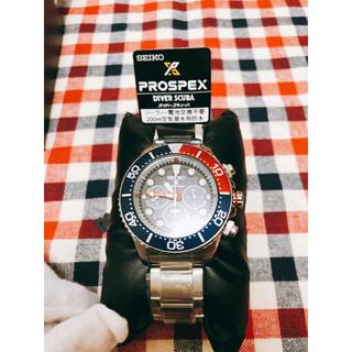 セイコー(SEIKO)の[新品] 激レアSEIKOクロノグラフ×PADI SDBL051世界700本限定(腕時計(アナログ))