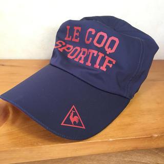 ルコックスポルティフ(le coq sportif)のle coq sportif   キャップ 帽子(ウエア)