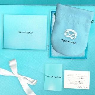 ティファニー(Tiffany & Co.)の未使用 ティファニー ダブルラビングハートリング8号(リング(指輪))