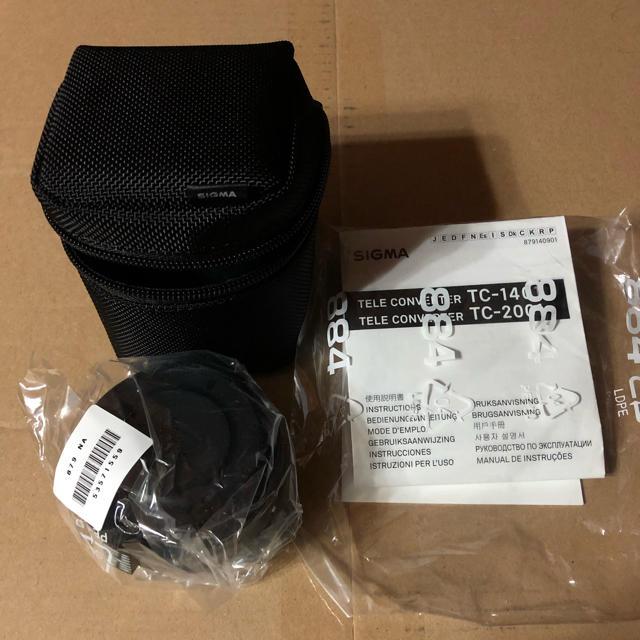 SIGMA(シグマ)の 新品 SIGMA テレコンバーター TC-1401 ニコン用 スマホ/家電/カメラのカメラ(レンズ(単焦点))の商品写真