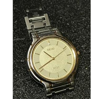 セイコー(SEIKO)の SEIKO DOLCE シルバー×ゴールド クオーツ (腕時計(アナログ))