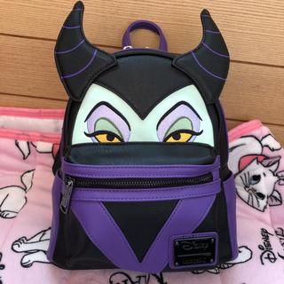 ディズニー(Disney)のマレフィセント ヴィランズ リュック ディズニー 日本未発売 ラウンジフライ(リュック/バックパック)