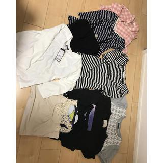 ジーユー(GU)の新品あり 春夏トップス まとめ売り(Tシャツ(半袖/袖なし))