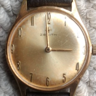 ゼニス(ZENITH)のアンティーク ゼニス メンズ 手巻き cal 2540 レア (腕時計(アナログ))