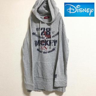 ディズニー(Disney)の【Disney】ディズニー ミッキー 薄手 パーカー (M)(パーカー)