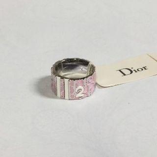 クリスチャンディオール(Christian Dior)のクリスチャンディオール Dior トロッターリング 指輪 ピンク(リング(指輪))