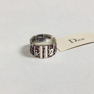 クリスチャンディオール(Christian Dior)のクリスチャンディオール Dior トロッターリング 指輪 レッド(リング(指輪))