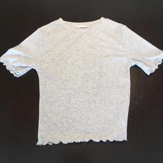 ジーユー(GU)の新品 ラメTシャツ(Tシャツ(半袖/袖なし))