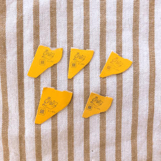 モリナガセイカ(森永製菓)の森永チョコボール 銀のエンゼル5枚(ノベルティグッズ)