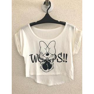 ディズニー(Disney)のディズニー ミニー Tシャツ(Tシャツ(半袖/袖なし))