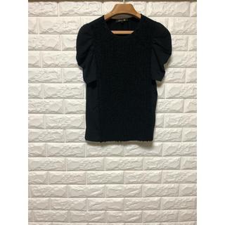 ドゥロワー(Drawer)のドゥロワー 前フリル パフスリーブTシャツ(Tシャツ(半袖/袖なし))
