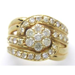 最終価格 お値引き不可 K18 ダイヤモンド 1.114ct リング(リング(指輪))