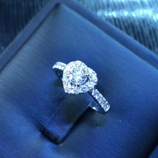 ティファニー(Tiffany & Co.)のKHcreate☆天然ダイヤモンド☆ハートリング☆プレゼントに(リング(指輪))