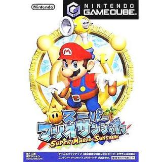 ニンテンドーゲームキューブ(ニンテンドーゲームキューブ)のスーパーマリオサンシャイン ソフトのみ! ゲームキューブ GC Wii 任天堂(家庭用ゲームソフト)