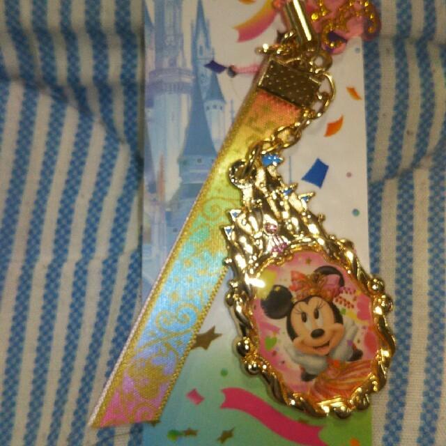 ミニーマウス(ミニーマウス)のディズニー ミニーマウス ストラップ エンタメ/ホビーのアニメグッズ(ストラップ)の商品写真