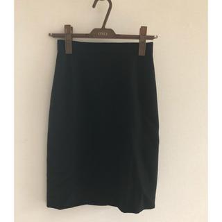 チェルッティ 1881 黒 タイトスカート(ひざ丈スカート)